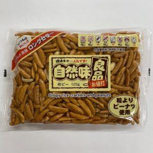 エヌエス 自然味良品柿ピー 120g