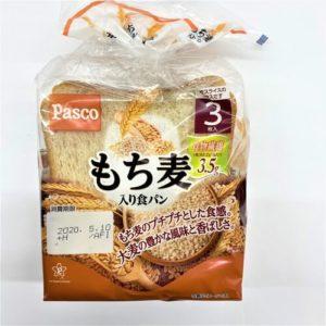 パスコ もち麦入り食パン 3枚入 01