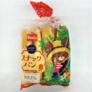 パスコ スナックパン 8本入