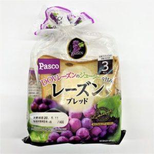 パスコ レーズンブレッド食パン 3枚入 01