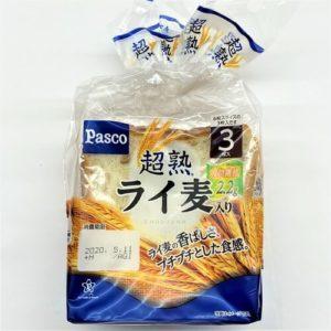 パスコ 超熟ライ麦入り食パン 3枚入 01