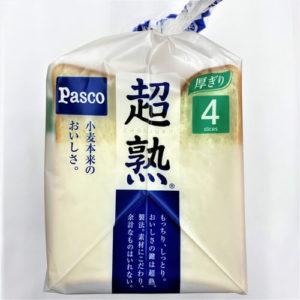 パスコ 超熟食パン 4枚切