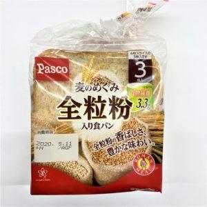 パスコ 麦のめぐみ全粒粉入り食パン 3枚入 01