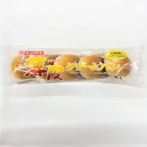 ヤマザキ 薄皮クリームパン 5個入