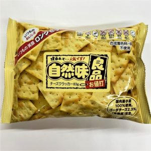 三ツ矢製菓 自然味良品チーズクラッカー 83g