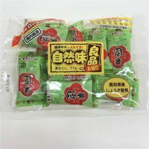 江口製菓 自然味良品粟おこし 77g