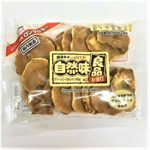 渡辺製菓 自然味良品グリーンピースせんべい 95g