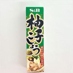 S&B 柚子こしょう 40g