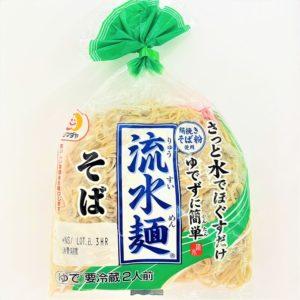 シマダヤ 流水麺そば 360g2人前 01