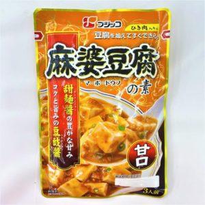 フジッコ 麻婆豆腐の素甘口 3人前195g 01