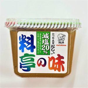 マルコメ 料亭の味減塩 750g 02