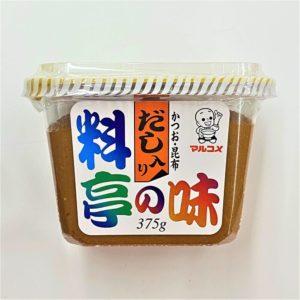 マルコメ 料亭の味 375g 02