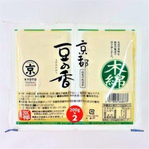 京都タンパク 京都豆の香木綿 200g×2個 01