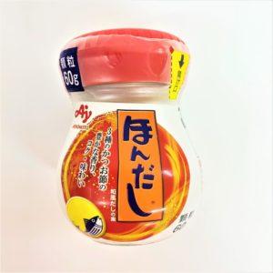 味の素 ほんだし瓶タイプ 60g 01