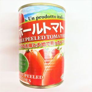 朝日 イタリア産ホールトマト 400g 01
