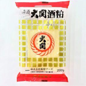 飯田フーズ 大関酒かす板 200g