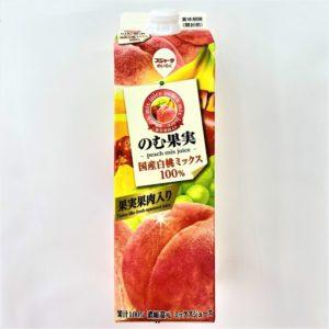 めいらく のむ果実白桃ミックス 1000ml 01