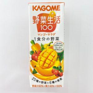 カゴメ 野菜生活マンゴーサラダ 200ml 01