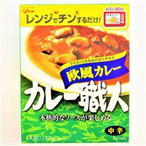 グリコ カレー職人欧風カレー(中辛) 170g 01