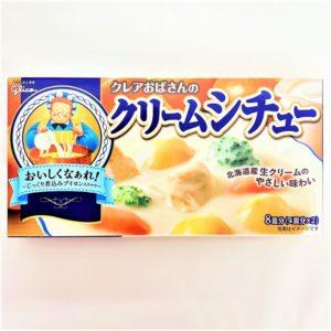 グリコ クレアおばさんのクリームシチュー 4皿分×2 01