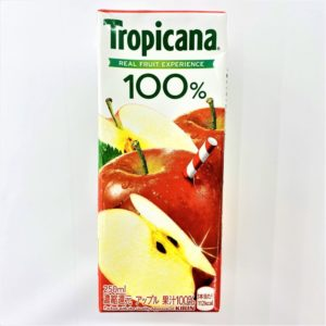 トロピカーナ 100%アップル 250ml 01