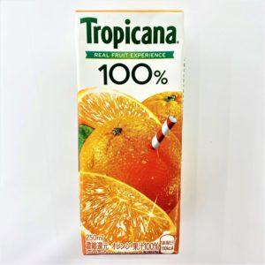 トロピカーナ 100%オレンジ 250ml 01