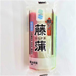 フジミツ 藤蒲かまぼこ(三色) 80g1本 01