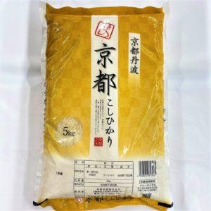 京都産 丹波こしひかり 5kg 01