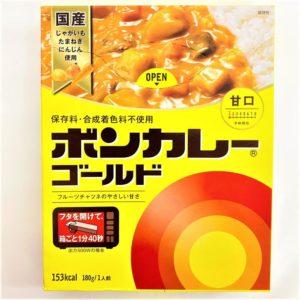 大塚食品 ボンカレーゴールド(甘口) 180g 01