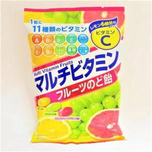 扇雀飴本舗 マルチビタミンフルーツのど飴 80g 01