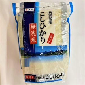 新潟産 無洗米こしひかり 2kg 01