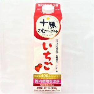 日清ヨーク 十勝のむヨーグルト(いちご) 900g 01