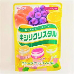春日井 キシリクリスタル(フルーツアソートのど飴) 67g 01