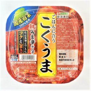 東海漬物 こくうま熟うま辛キムチ 320g 01