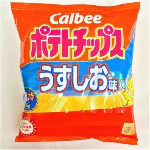 カルビー ポテトチップス(うすしお味) 60g 01-02