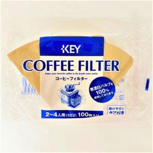 キーコーヒー コーヒーフィルター 2〜4人用100枚入 01