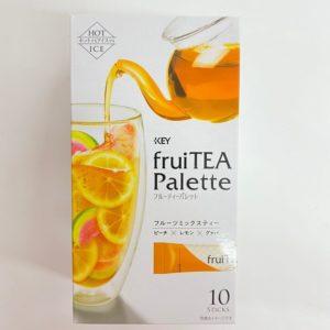 キーコーヒー フルーティーパレットフルーツミックスティー 10本入120g 01