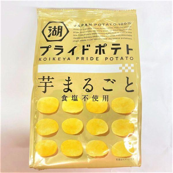 コイケヤ プライドポテト芋まるごと食塩不使用 60g 01