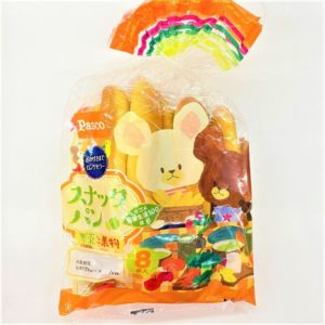パスコ スナックパン(野菜と果物) 8本入 01