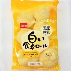パスコ 白い食卓ロール 6個入 01