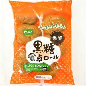 パスコ 黒糖食卓ロール 6個入 01