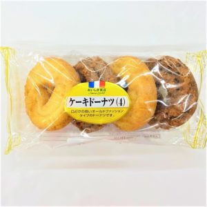 ヤマザキ ケーキドーナツ 4個入 01