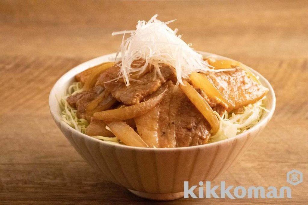 【料理】王道の豚丼