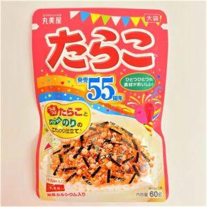 丸美屋 たらこ(大袋) 60g 01