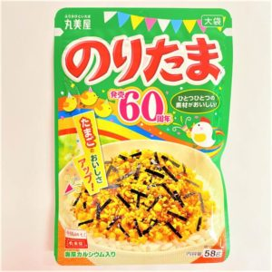 丸美屋 のりたま(大袋) 58g 01