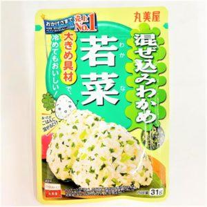 丸美屋 混ぜ込みわかめ(若菜) 31g 01