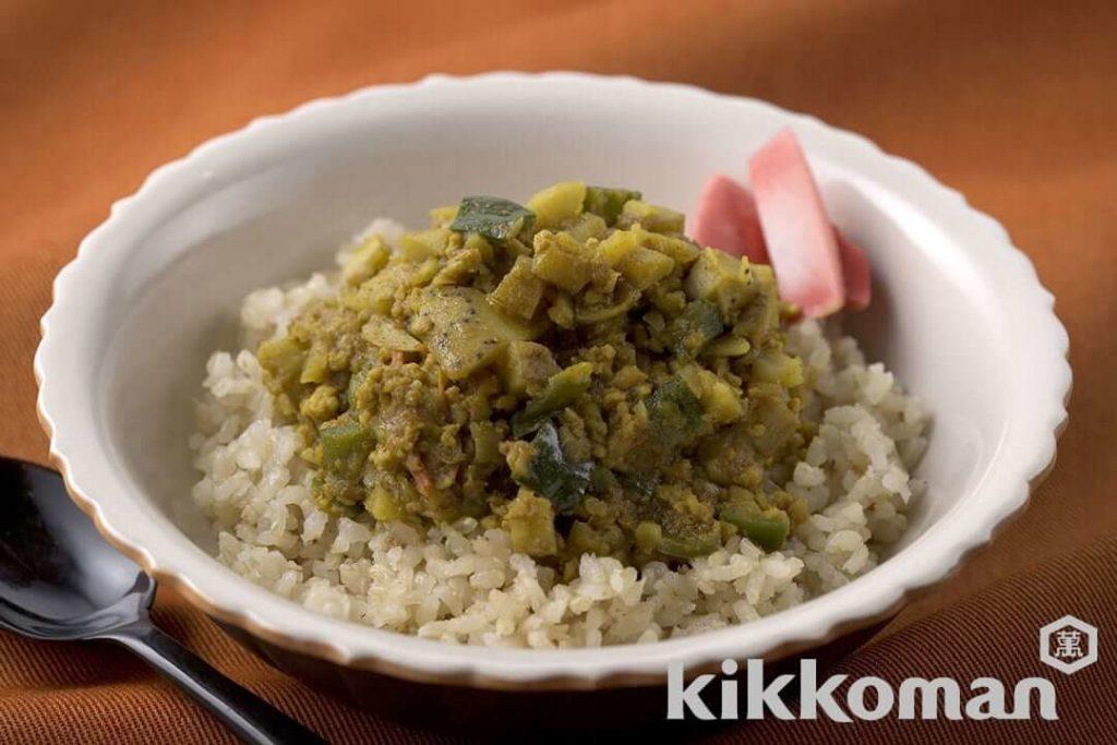 【料理】和風キーマカレー