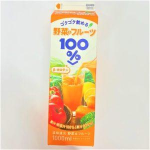 トモエ乳業 野菜&フルーツ100% 1000ml 01