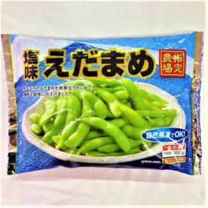 日本水産 塩味えだまめ 360g 01