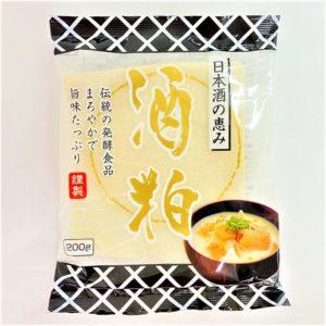 飯田フーズ 日本酒の恵み酒粕 200g 01